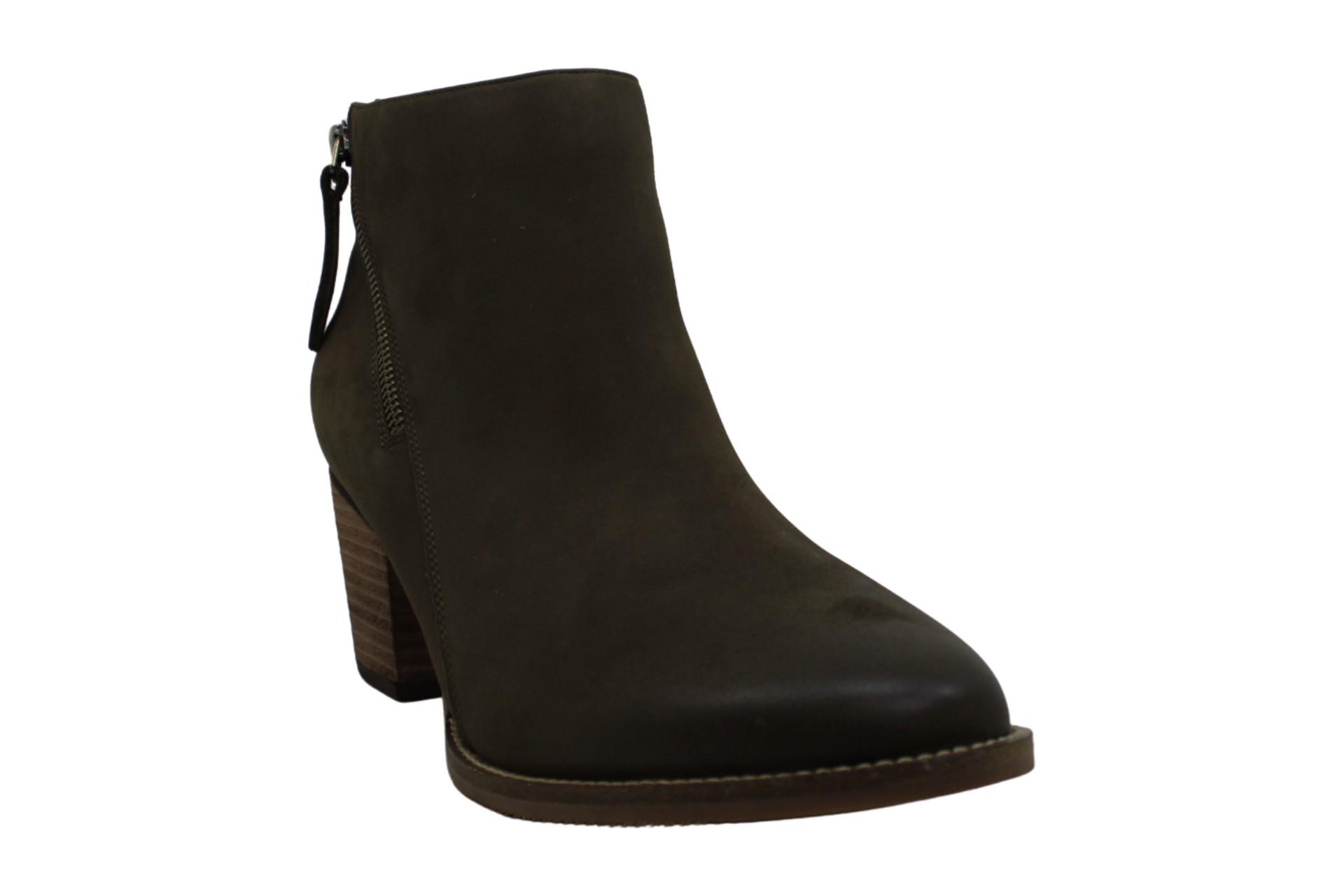 thumbnail 12 - Aqua-College-Womens-Nancy-Leather-Almond-Toe-Ankle-Fashion-Boots
