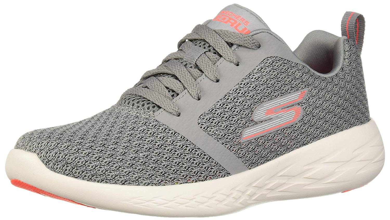 Run 600-Circulate Sneaker, Gray/Coral