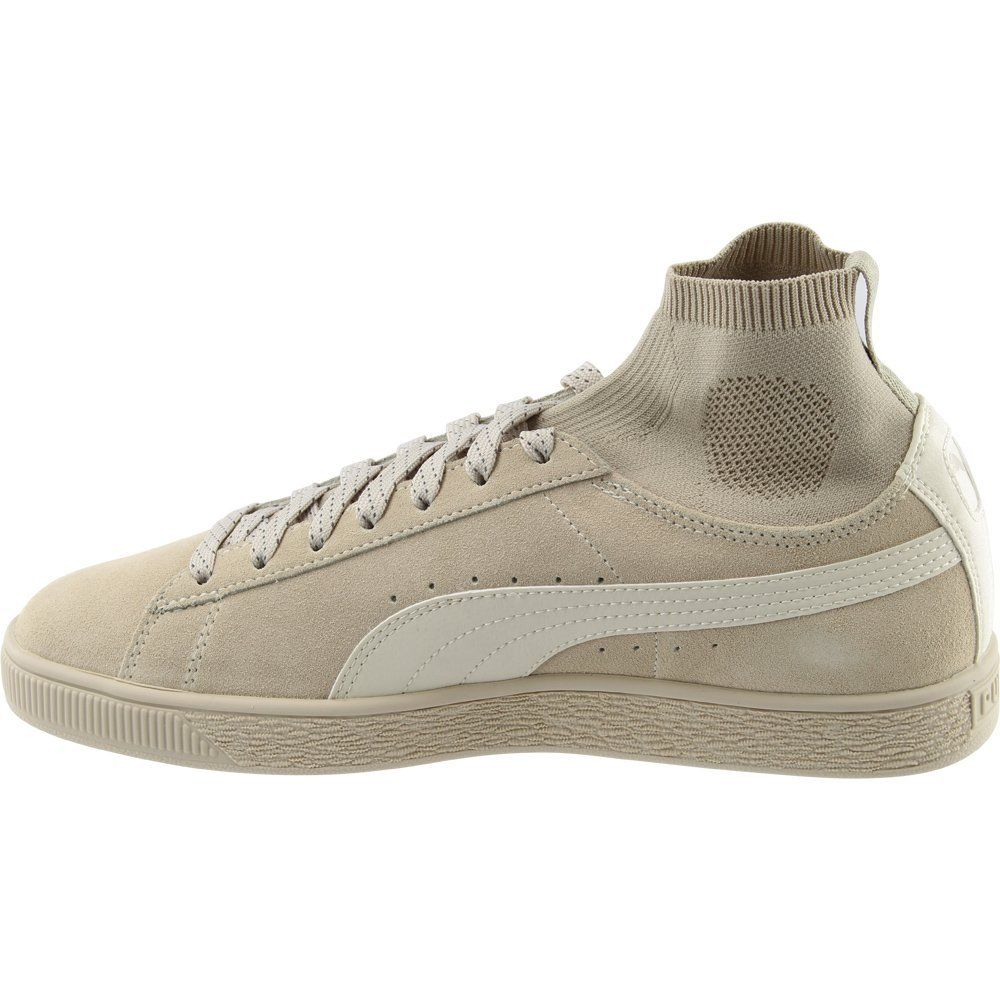 Details about PUMA Mens Suede Classic Sock Athletic & Sneakers Beige