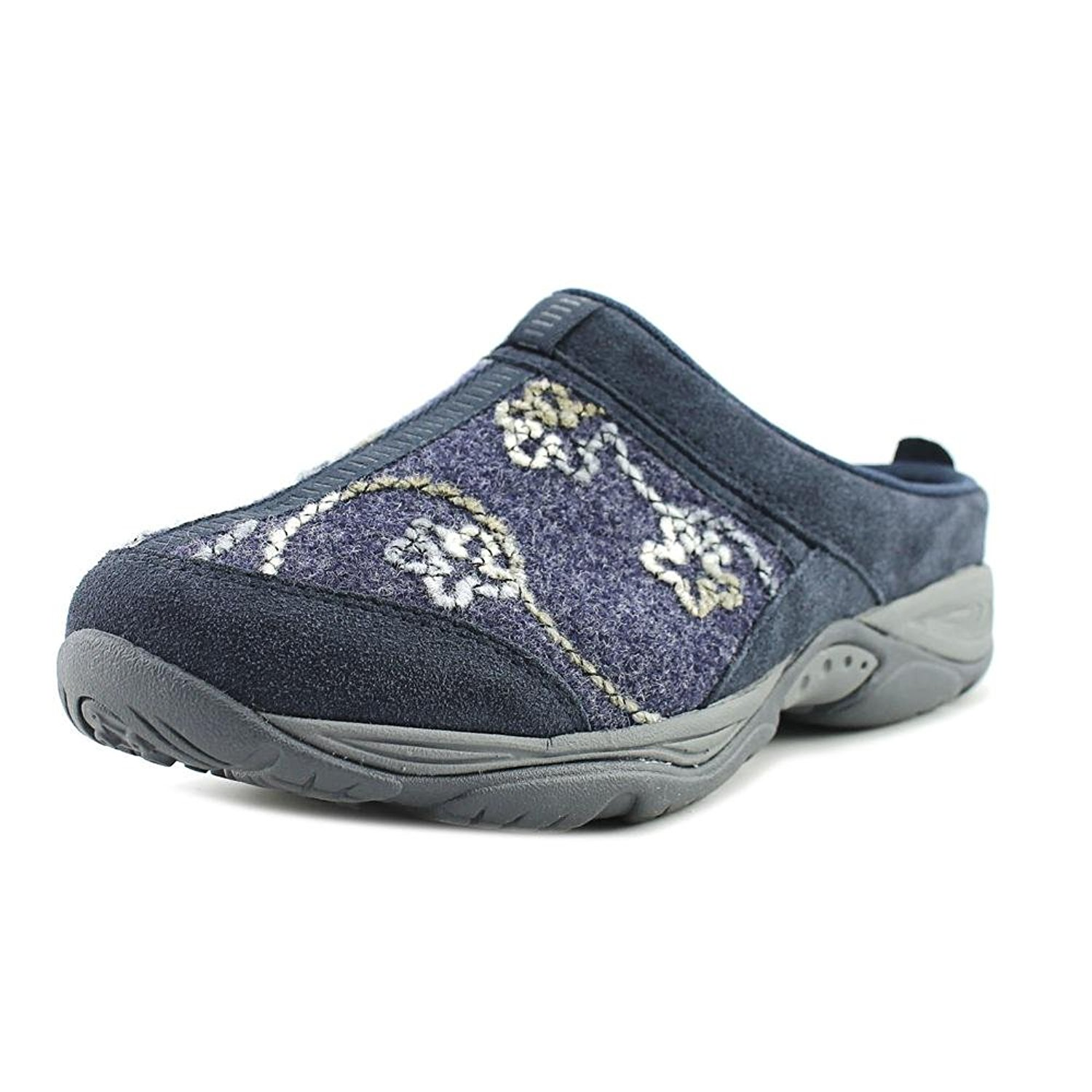 Spring Step Womens MANILA Leather Closed Toe Clogs Blue/MULTI Size 9.0 QBS9