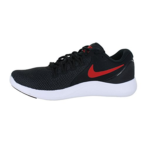 Nike Womens LUNAR APPARENT Fabric Low Top Lace Up Running Black Size 8.0