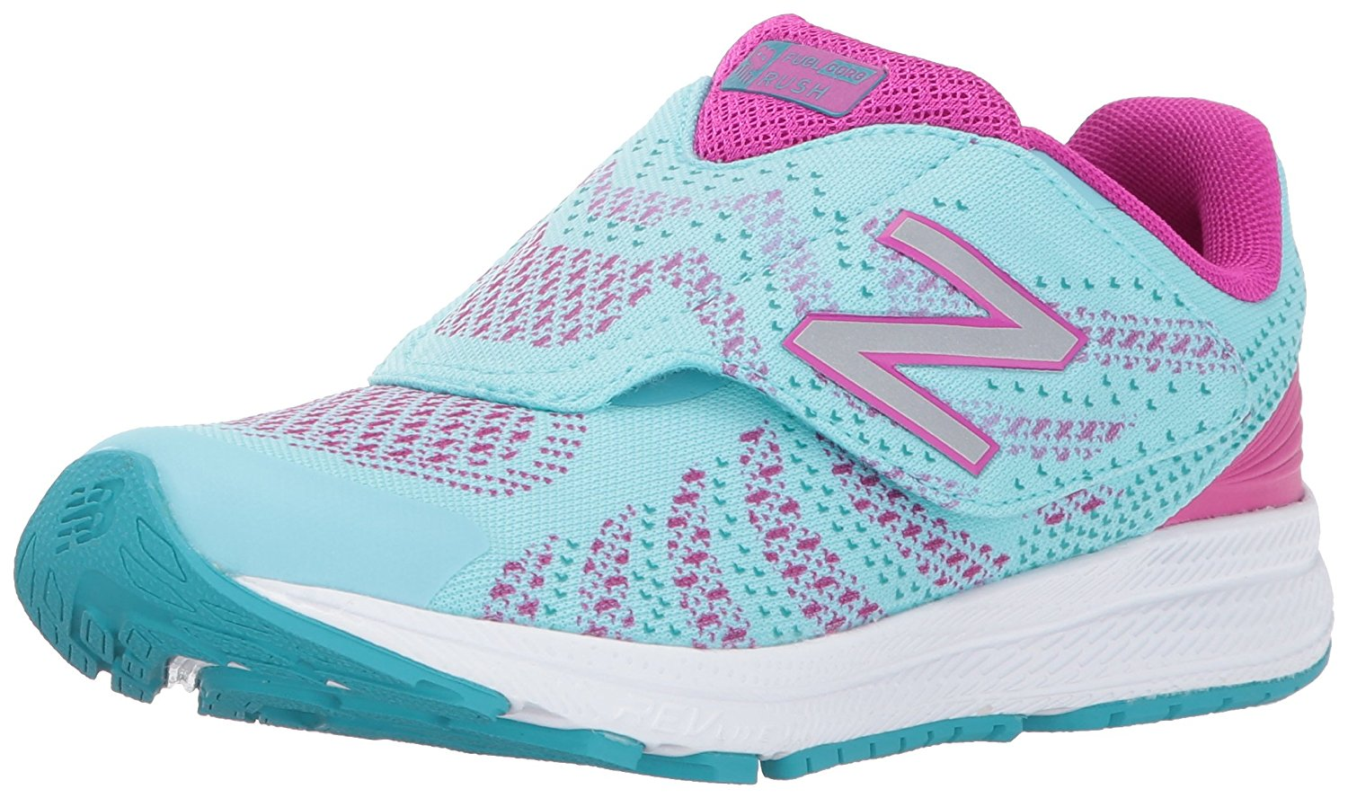 New Balance Girls kvrusvll Low Top Lace Up Walking Shoes Blue Size 8W
