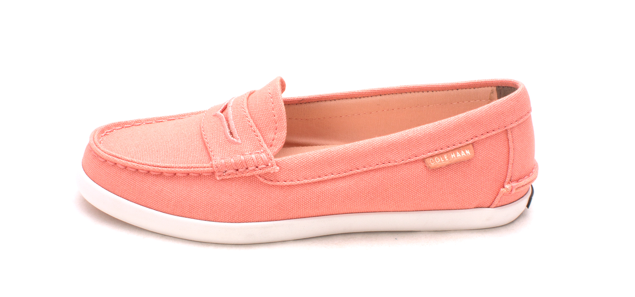 Cole Haan Damenschuhe W02180 Canvas Closed Toe Toe Toe Loafers  Coral Haze  Größe 6.0 89c271