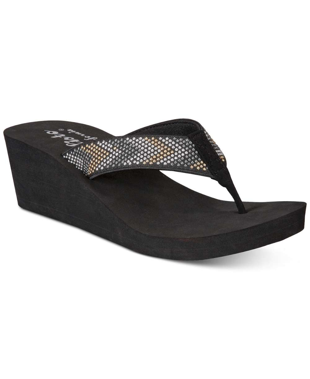 7573cebbf5cc87 Details about Callisto Womens Jester Open Toe Casual Slide Sandals