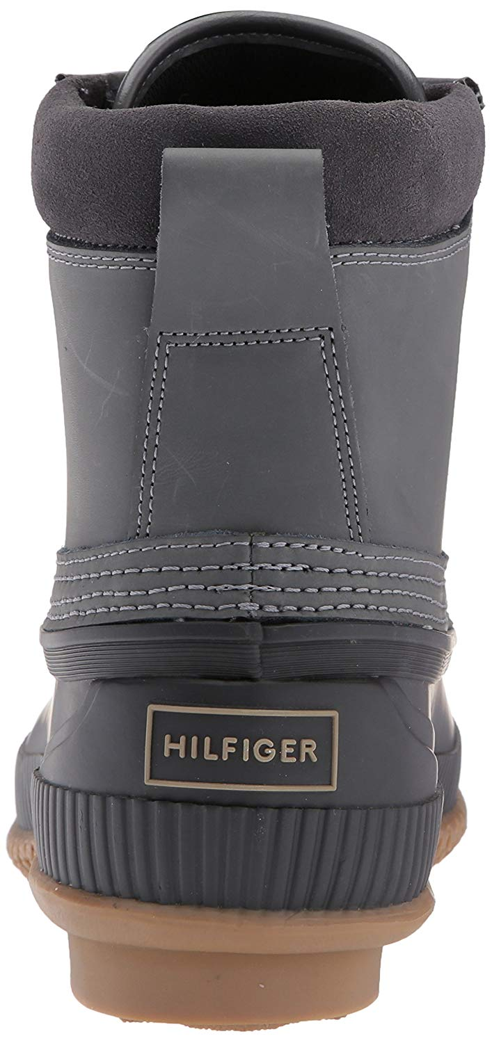 d245f95563e Details about Tommy Hilfiger Mens Casey Rubber Round Toe Ankle Fashion  Boots, Grey, Size 13.0