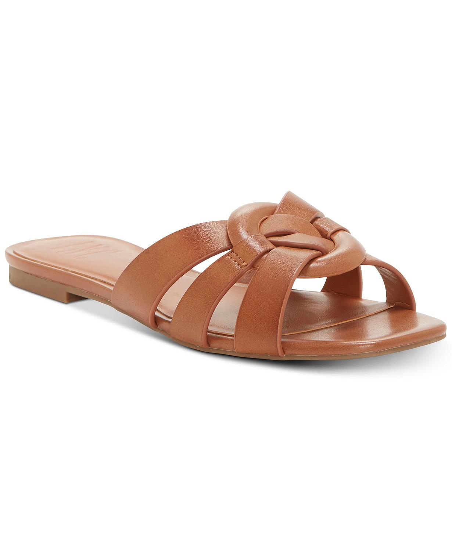 INC International Concepts Womens Gargip Open Toe Casual Slide Sandals