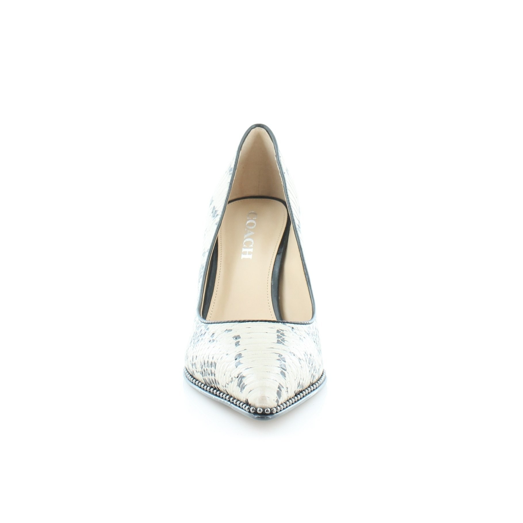 0cac9ce78bc2 Coach Womens Vonna Pointed Toe Classic Pumps