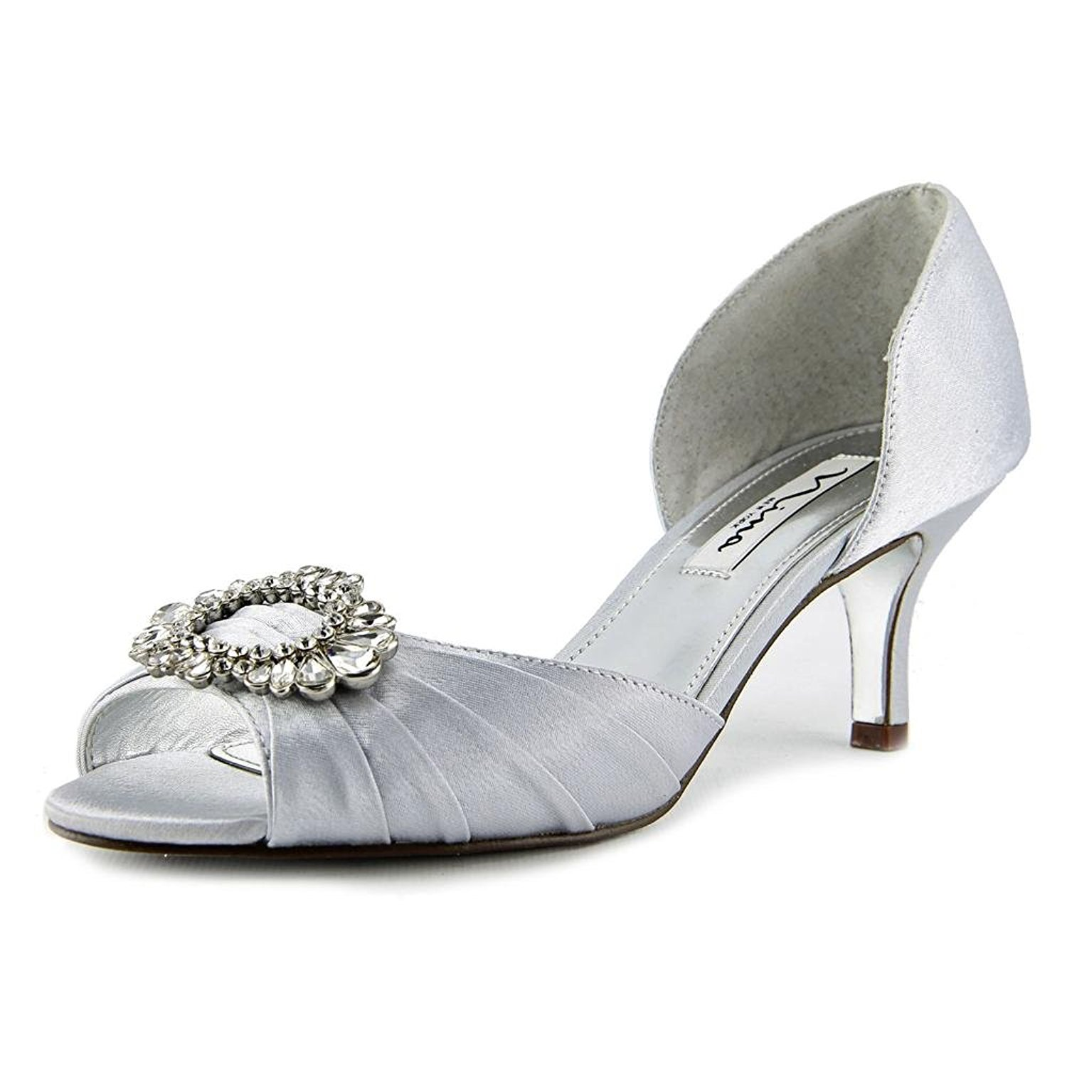 looking for cheap price footaction Nina Womens Crystah Peep Toe D-o... outlet perfect qX2NW8n