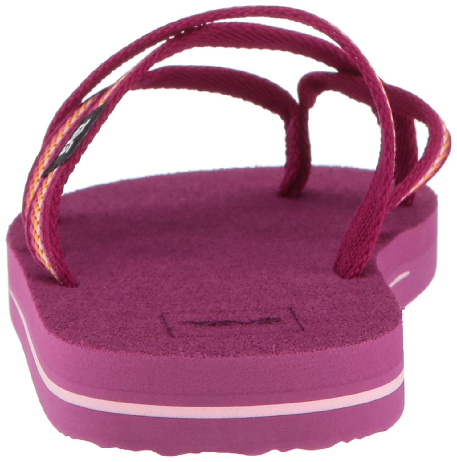 4926f3459 Teva Girls olowahu Slip On Thong Flip Flops