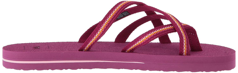 f3400dbdd Teva Girls olowahu Slip On Thong Flip Flops