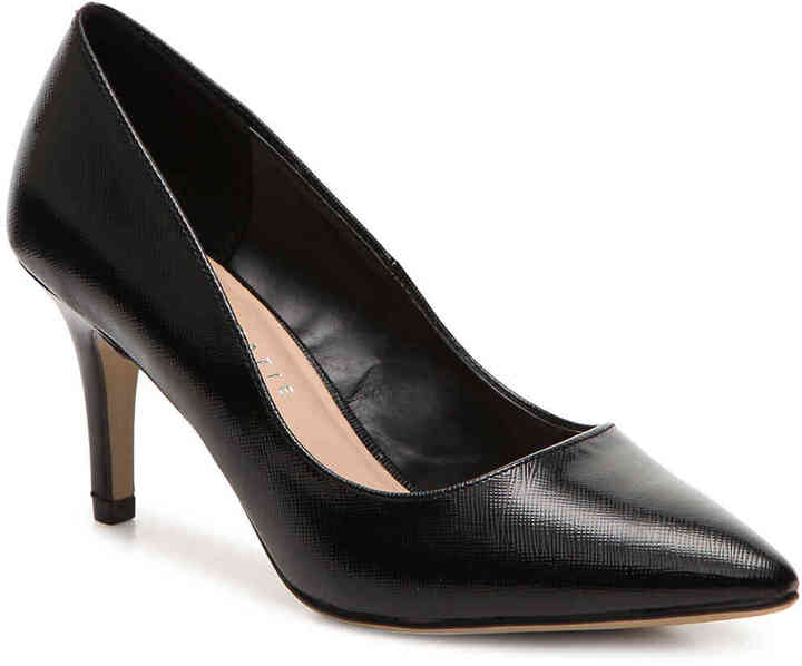 Kelly Katie Womens tessa Pointed Toe Classic Pumps Black Size 9.0