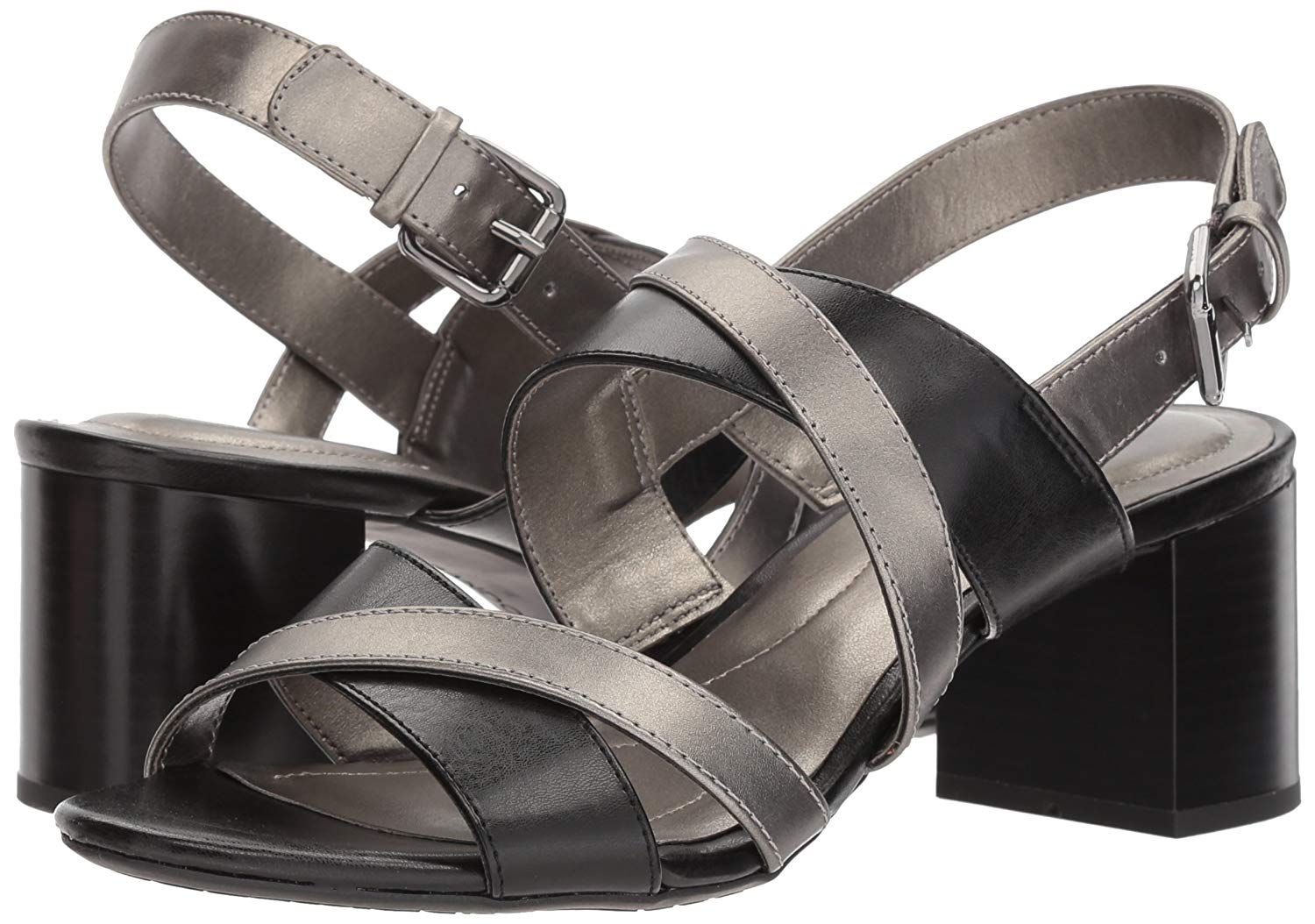 57a072efbd9 Bandolino Womens stepa Open Toe Casual Ankle Strap Sandals