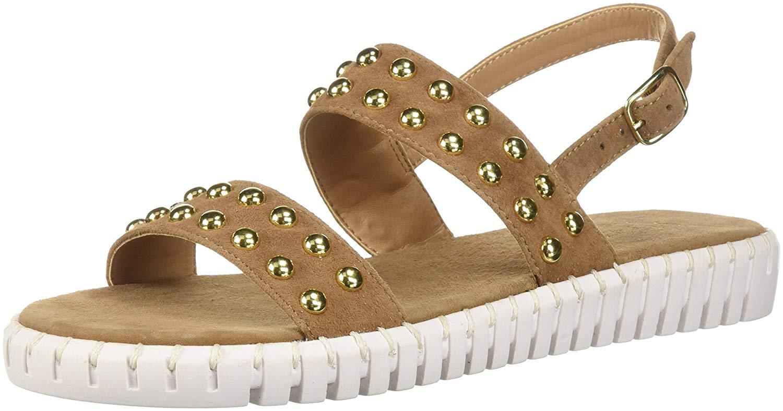 8358da0bde9 Details about STEVEN by Steve Madden Womens shams Open Toe Casual Gladiator  Sandals
