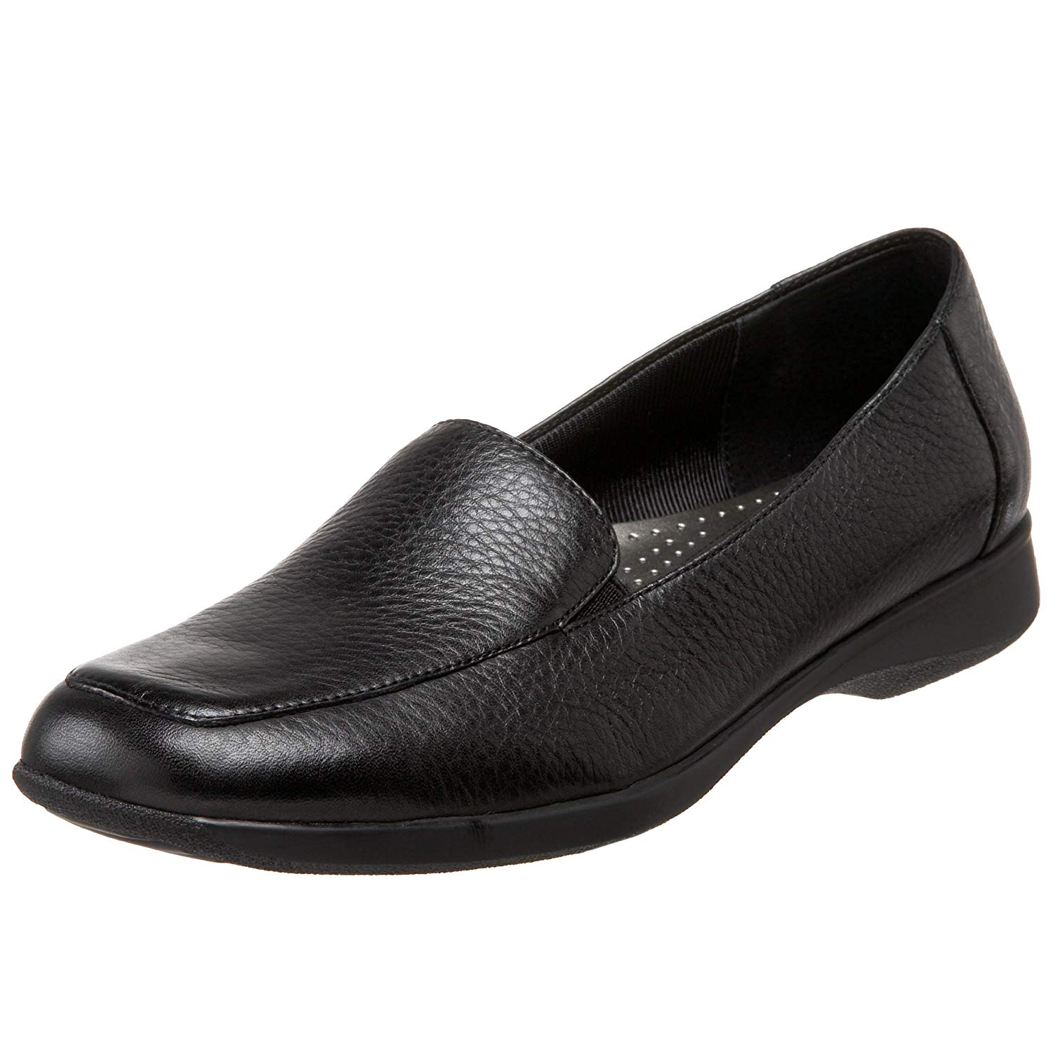 b7f149ed5a8 Details about Trotters Womens Jenn Leather Square Toe Loafers