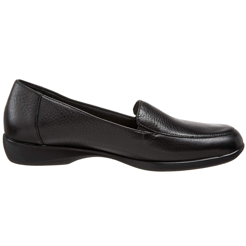 e4347150a3c Trotters Womens Jenn Leather Square Toe Loafers