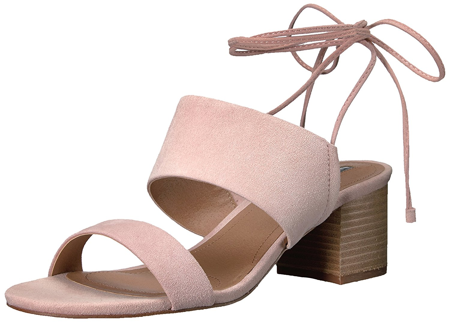 Tahari Womens Doe Leather Round Toe Casual Mule Sandals Ballet Pink Size 9.0 8