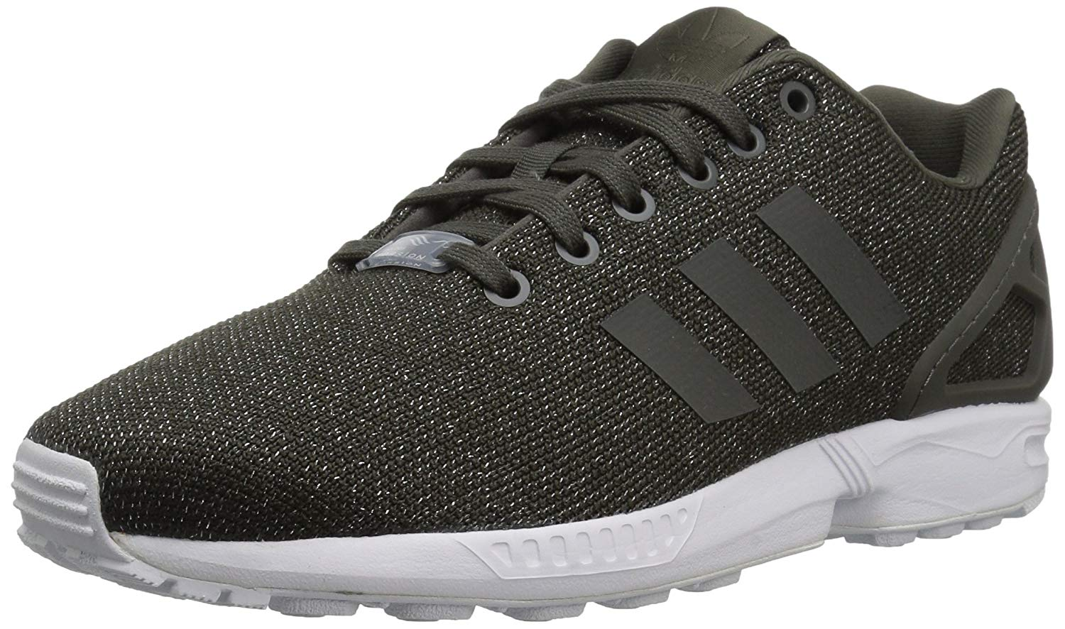 dbca9911ac5f Adidas ZX Flux W BB2262 Womens Fashion Sneakers Utility Grey Utility ...
