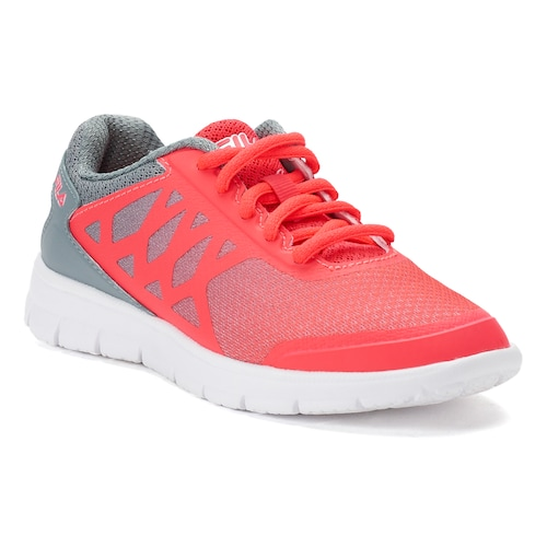 b7052551e982 Fila Faction 3 Girls Athletic Shoes Grey Pink 0 US   US 791273377479 ...