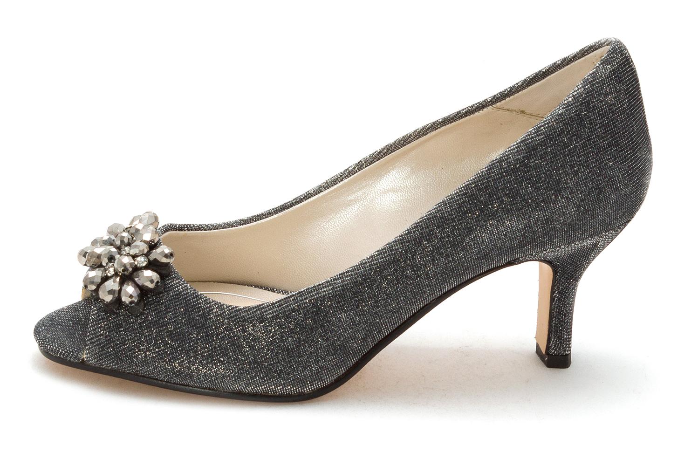 Caparros Womens WATSONS Peep Toe Classic Pumps Grey Size 6.5