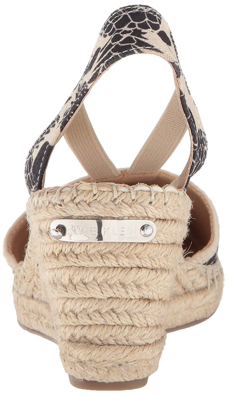 9a33e32514b4 Anne Klein Women s Abbey Fabric Espadrille Wedge Sandal
