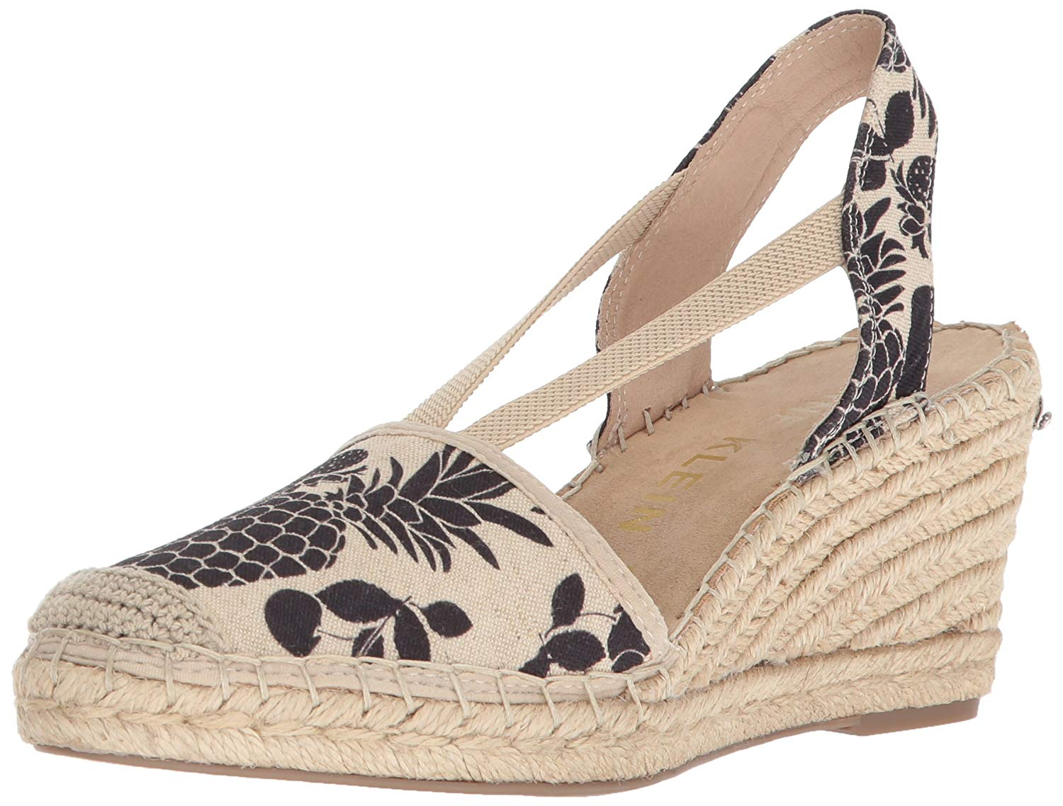 f186bf1b8fae Anne Klein Women s Abbey Fabric Espadrille Wedge Sandal