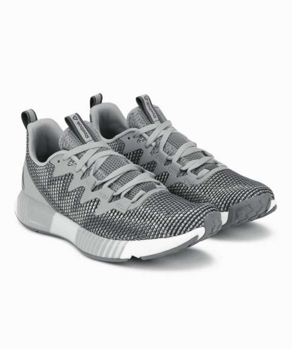 Détails sur Femmes Reebok Chaussures Athlétiques Couleur Gris GreySharkSpirit White Taille