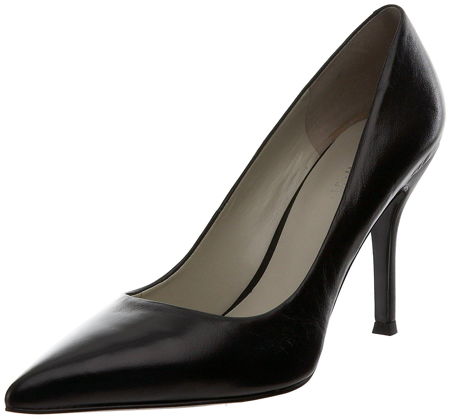Details about Nine West Womens FLAX Leather Pointed Toe Classic Pumps