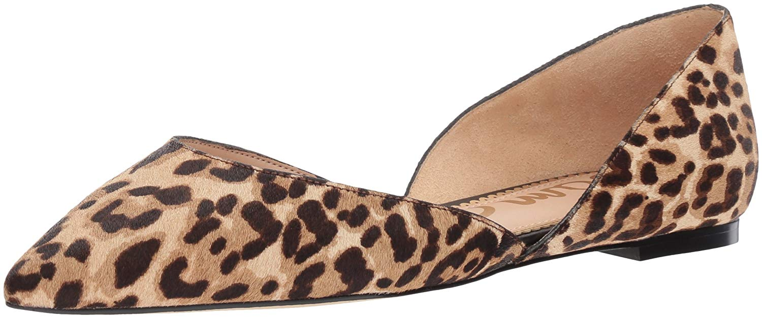 fd5ed4679ba911 Details about Sam Edelman Womens Rodney Leather Pointed Toe Slide Flats