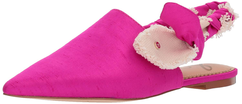 09550ea5782af Sam Edelman Women's Rivers Mule, Pink Magenta/Natural, Size 7.0 ...