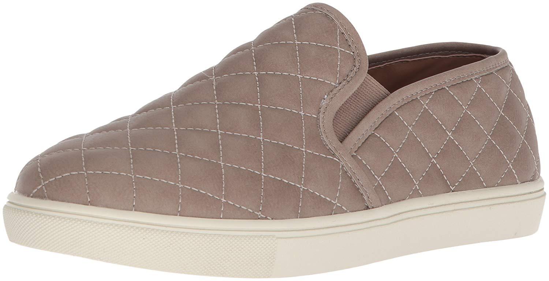 094b93aeb66 Steve Madden Womens Ecentrcq Low Top Slip On Fashion Sneakers