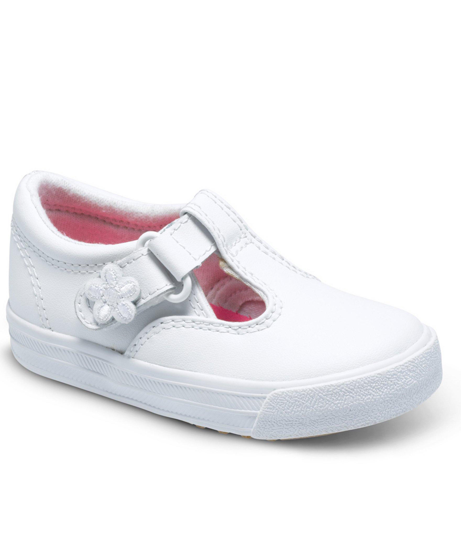 17f279c4de5 Kids Keds Girls Daphne Leather Low Top Lace Up Walking