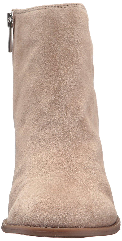 Jessica Simpson Yasma Black Suede Ankle Cut Out Sleek Block Heel Booties