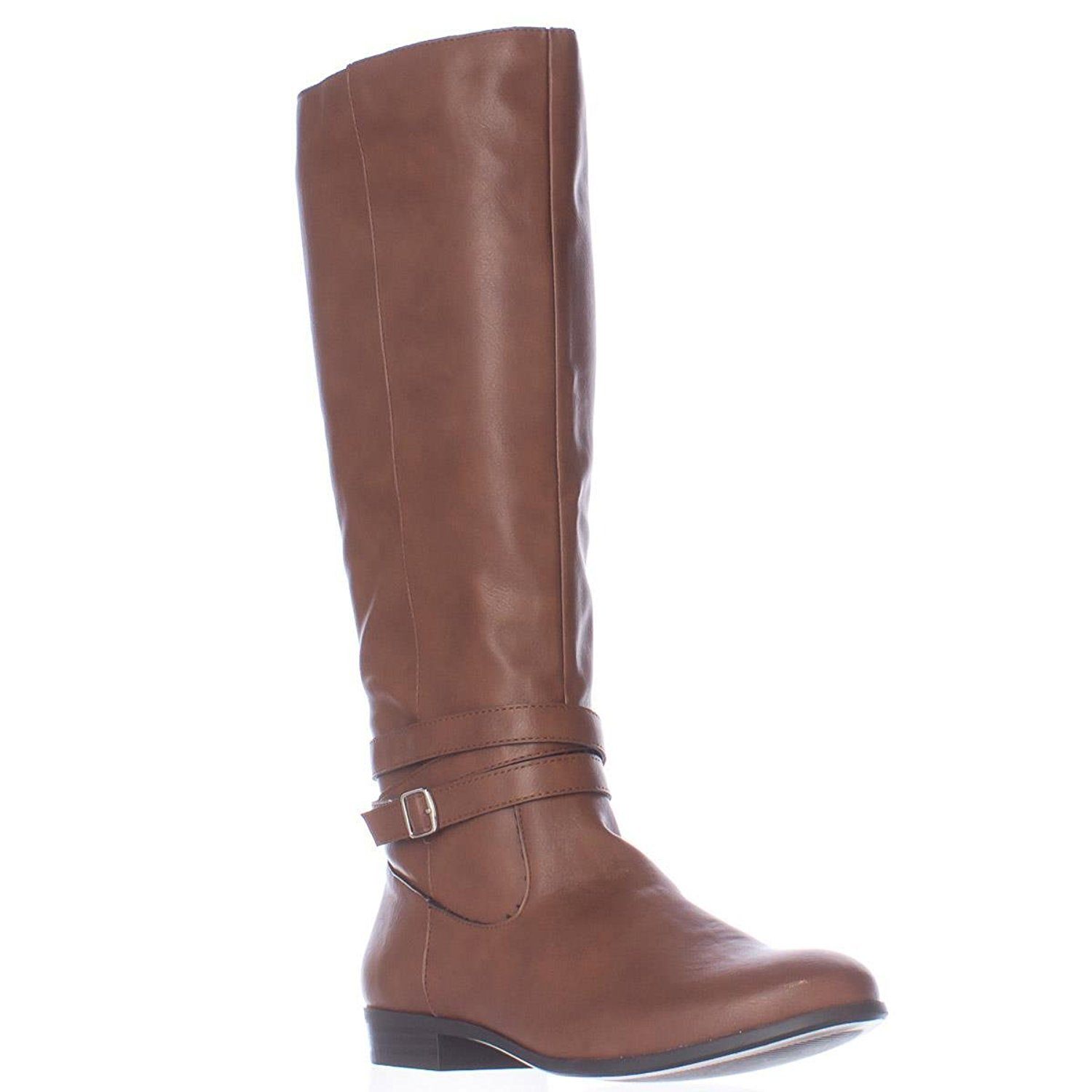 6bedde84d50 Style   Co. Womens Fridaa Round Toe Mid-Calf Riding Boots