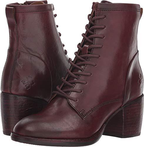 Patricia Nash Frauen Sicily Geschlossener Zeh Zeh Zeh Leder Fashion Stiefel Rot Groesse   7a1c10