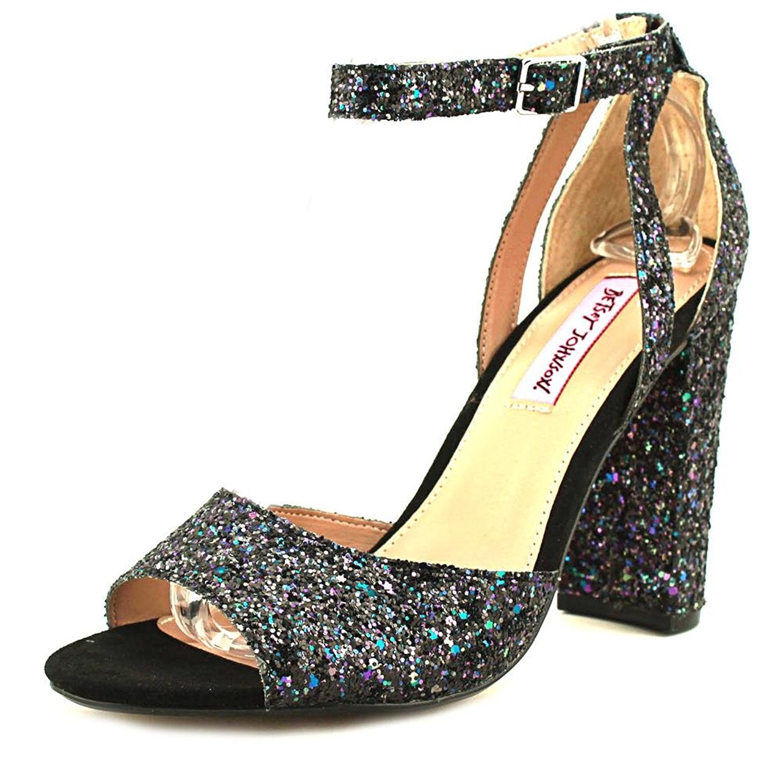 33fec9f2a4e Betsey Johnson Womens Glissten Open Toe Casual Ankle Strap Sandals ...