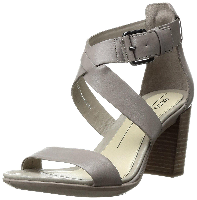 8c809e318fc2b ECCO Womens Shape 65 Leather Open Toe Casual Strappy Sandals