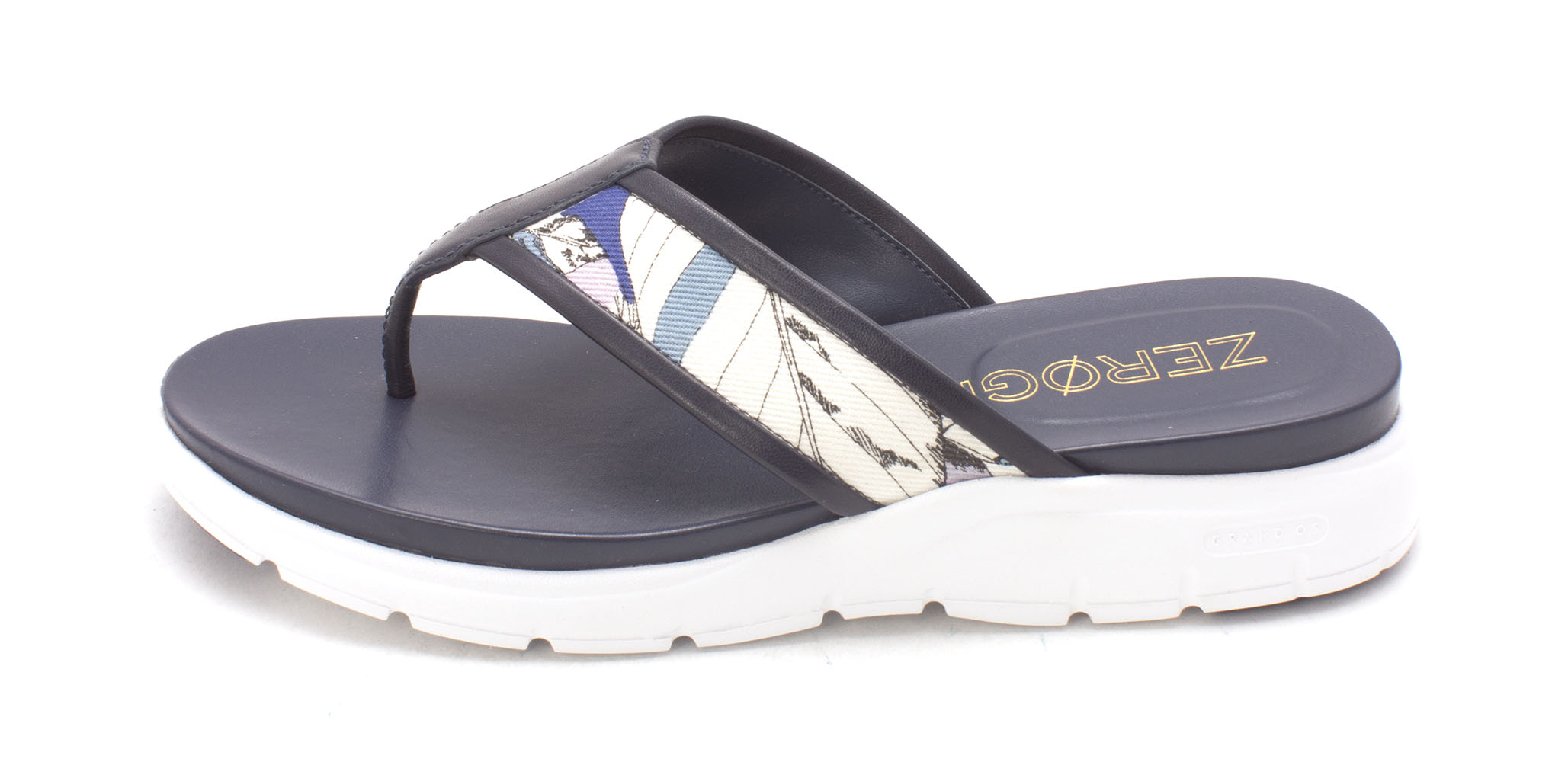 Cole Haan Womens CH2046S Open Toe Casual Slide Sandals Marine Blue Size 60