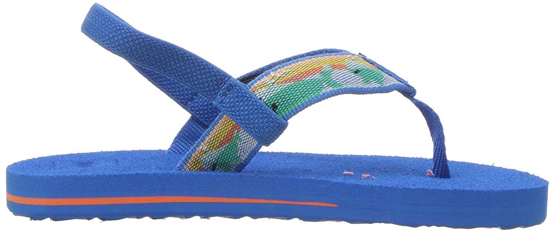 9ed37ec29d6a2 Teva Girls mush II Bungee Ankle Strap Flip
