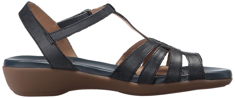 Naturalizer Damenschuhe Nanci Leder Open Casual Toe Casual Open T-Strap  Denim  Größe 6.0 rO2u c12c31