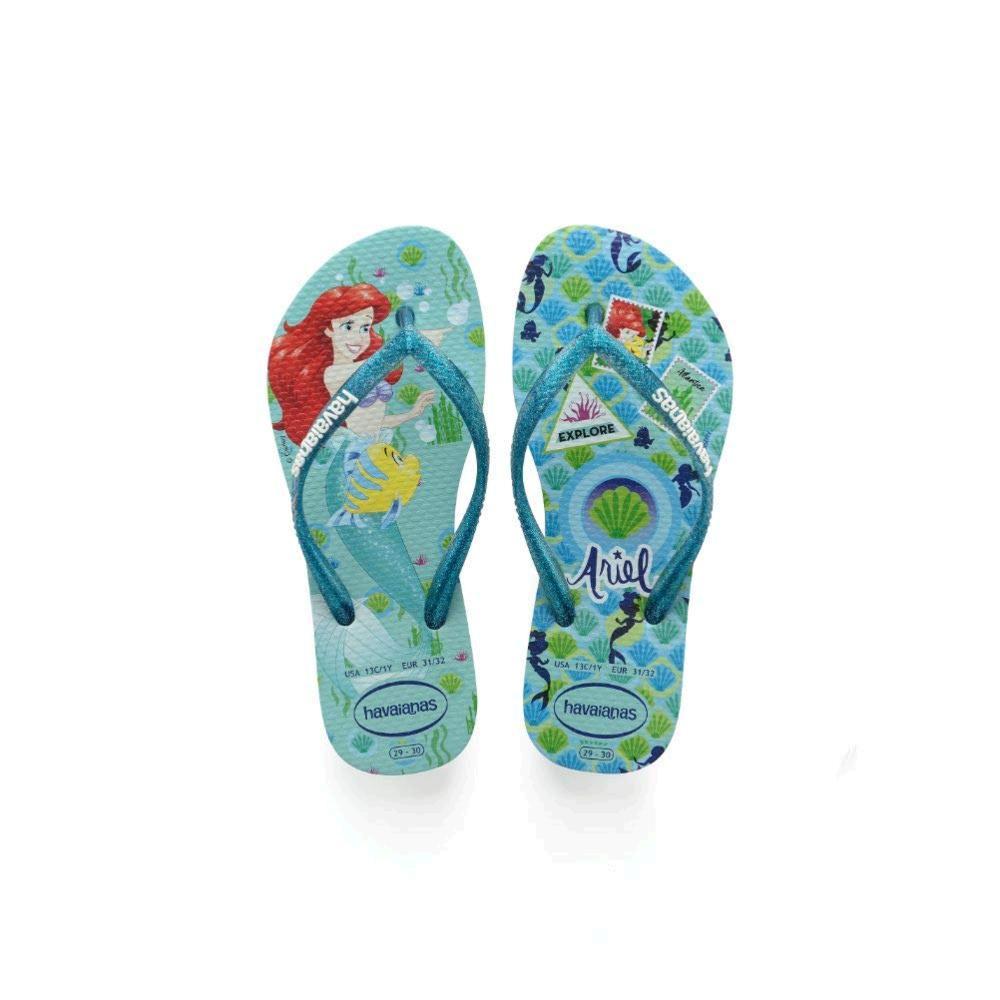 Disney Princess Havaianas Slim Flip Flop Sandals