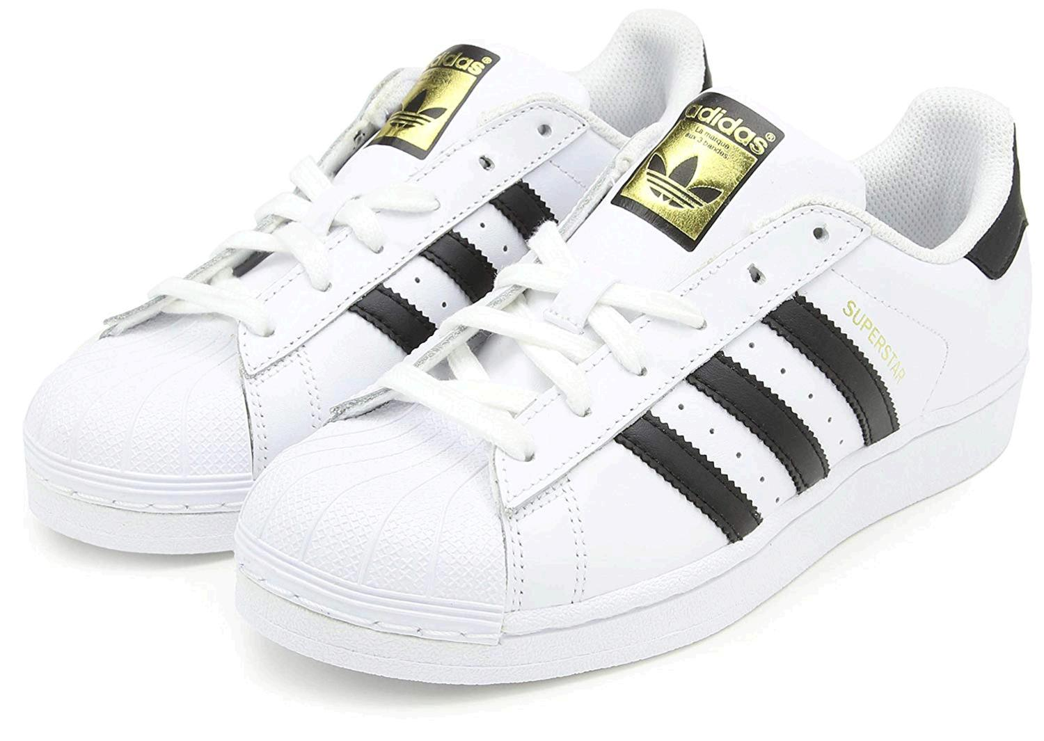adidas superstar black and white size 3