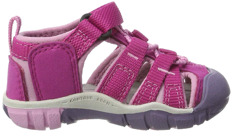 34edb2eeccba Keen SeaCamp II Girls Sandals Very Berry Lilac Chiffon 0 US   M ...