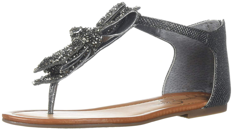 1a5a851bc9d6 Details about Jessica Simpson Women s Kellise Flat Sandal