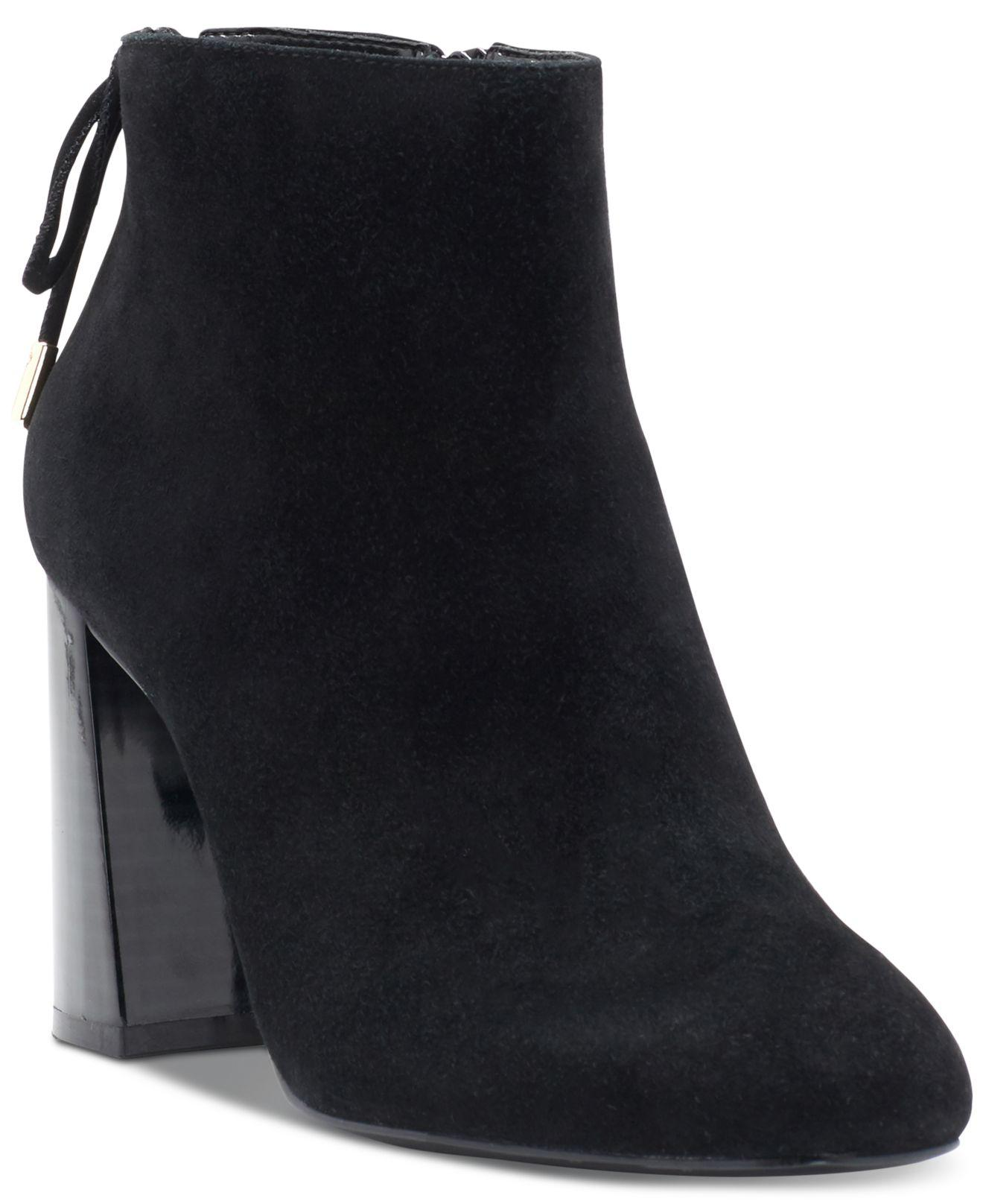 INC International Concepts Concepts Concepts mujer Denelli Suede Closed Toe Ankle Fashion botas  muy popular