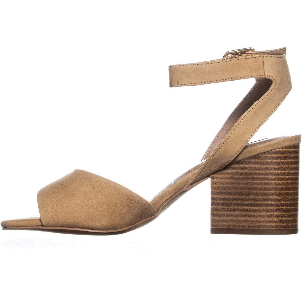 9a28e9b5796 Details about Steve Madden Womens Devlin Leather Peep Toe Casual Ankle  Strap Sandals