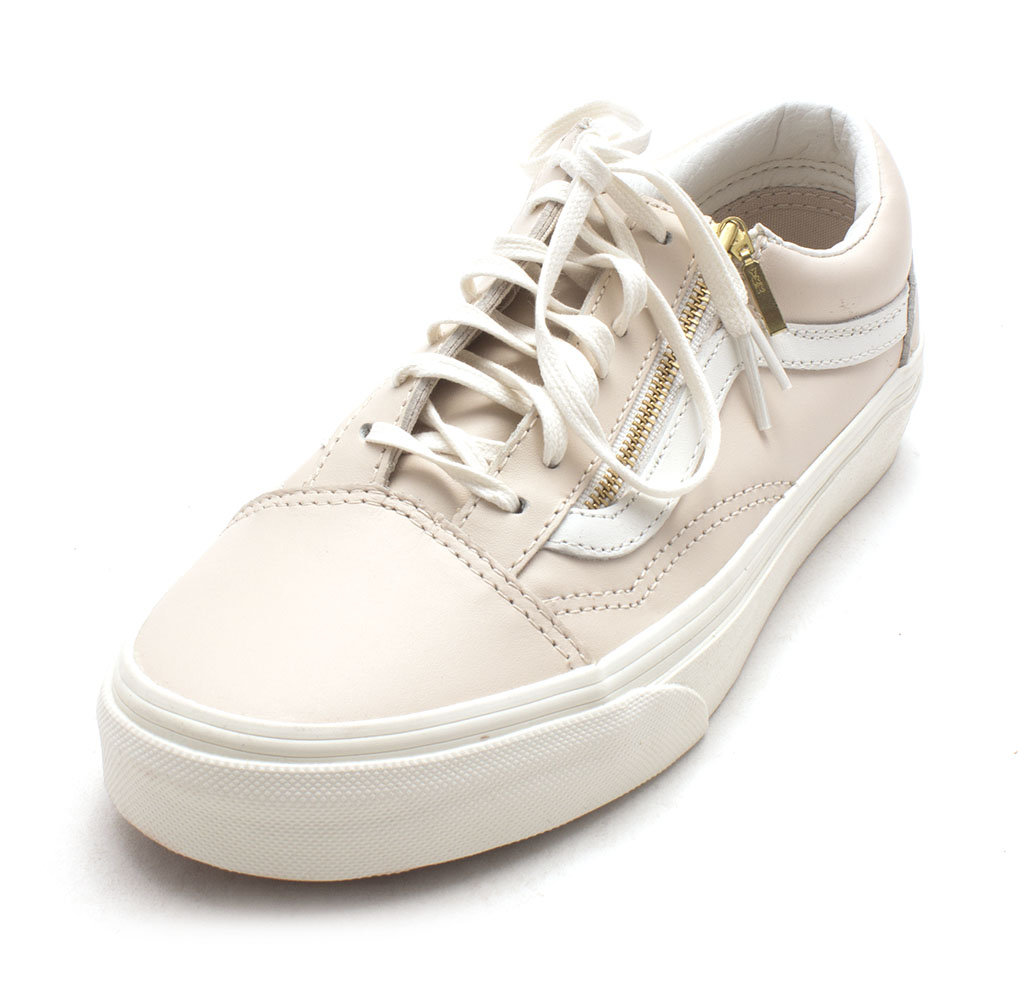 Womens Old Skool Zip Low Top Lace Up Fashion Sneakers