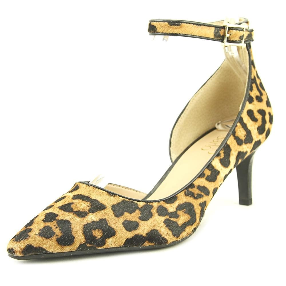 Franco Sarto Womens dandy 2 Pointed Toe Casual Ankle Strap leopard fb Size 80