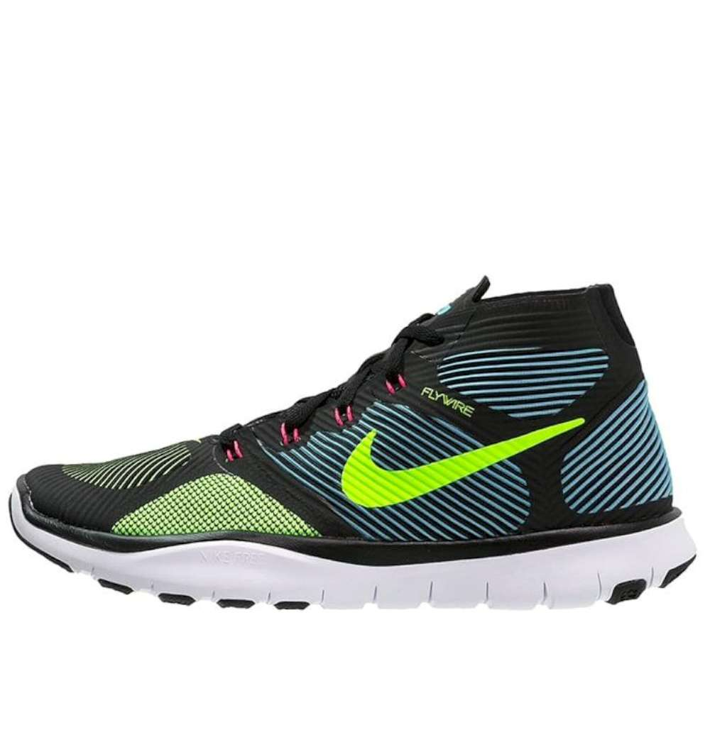 7fcf2dba6fcea Details about Nike Mens Free Train Instinct Hight Top Lace Up Running  Sneaker