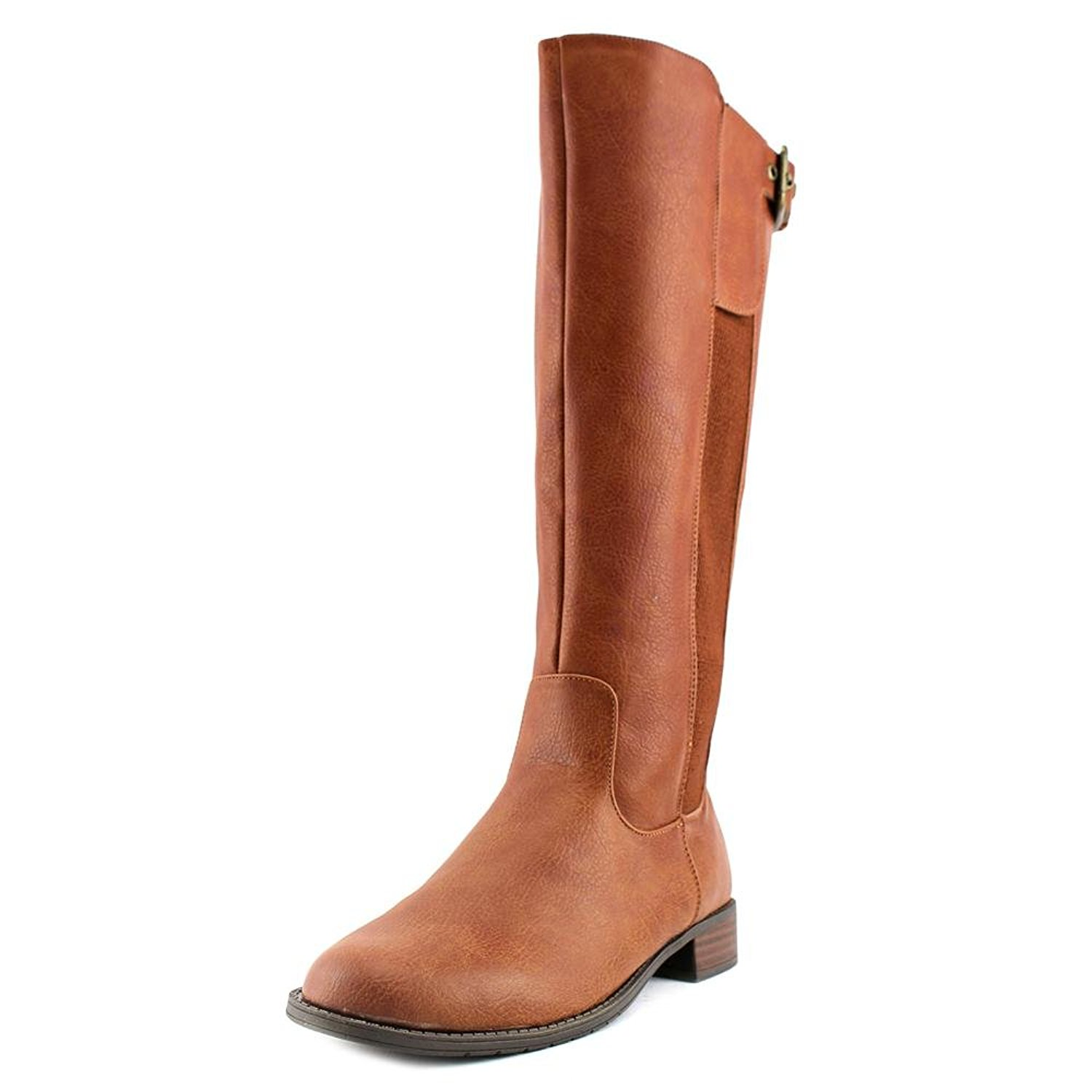 Kenneth Cole Unlisted Womens Spare Star Almond Toe Knee High Fashion Boots