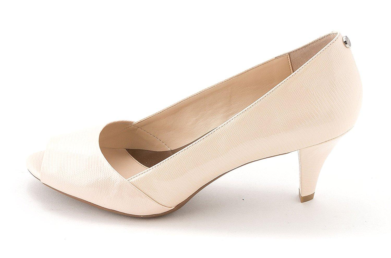Calvin Klein Womens Parisa Open Toe Classic Pumps Pink Size 7.5